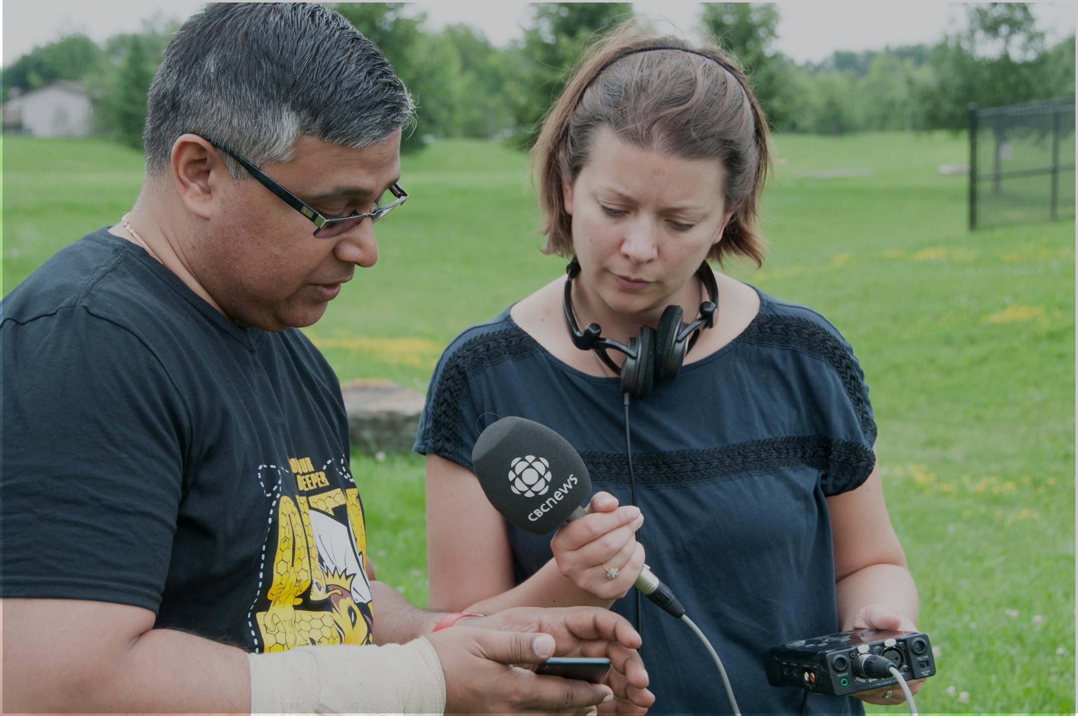 HiveSense interview with CBC news Ottawa