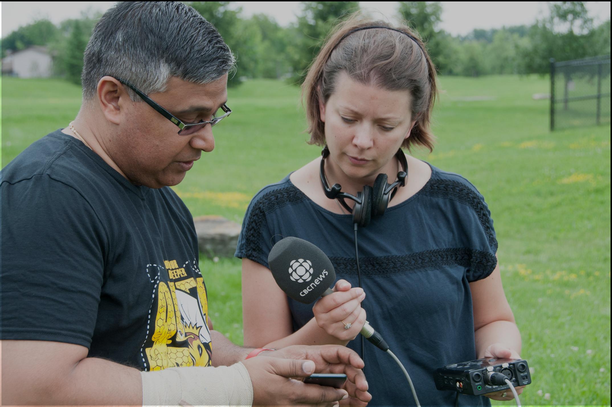 HiveSense interview with CBC news Ottawa